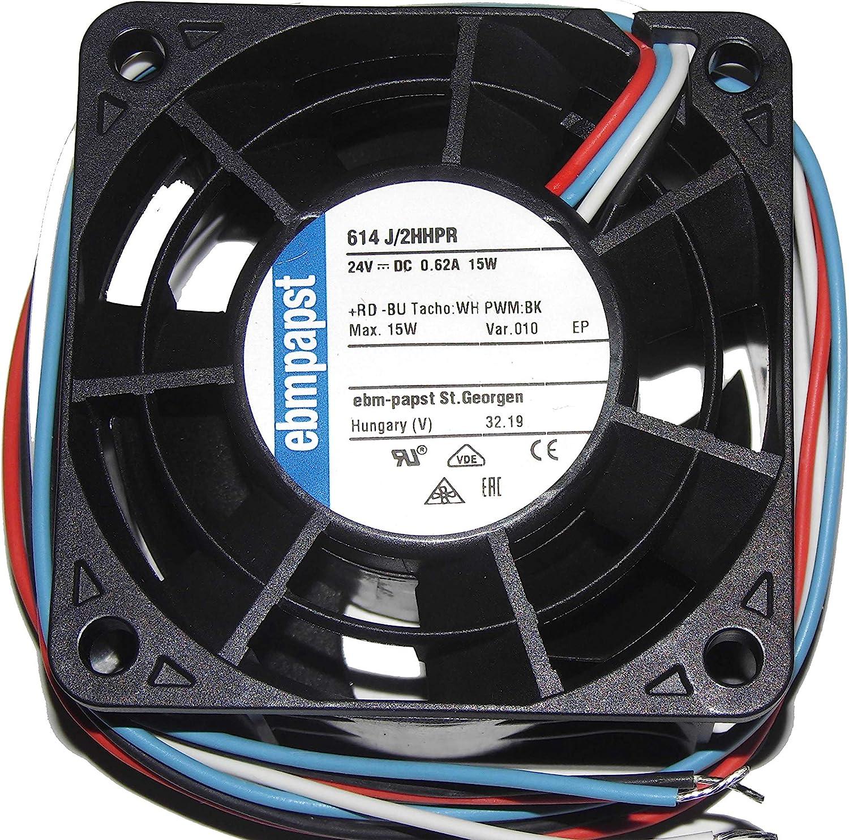 ebmpapst 6032 614J//2HHPR 24V 15W 4Wire Inverter Fan