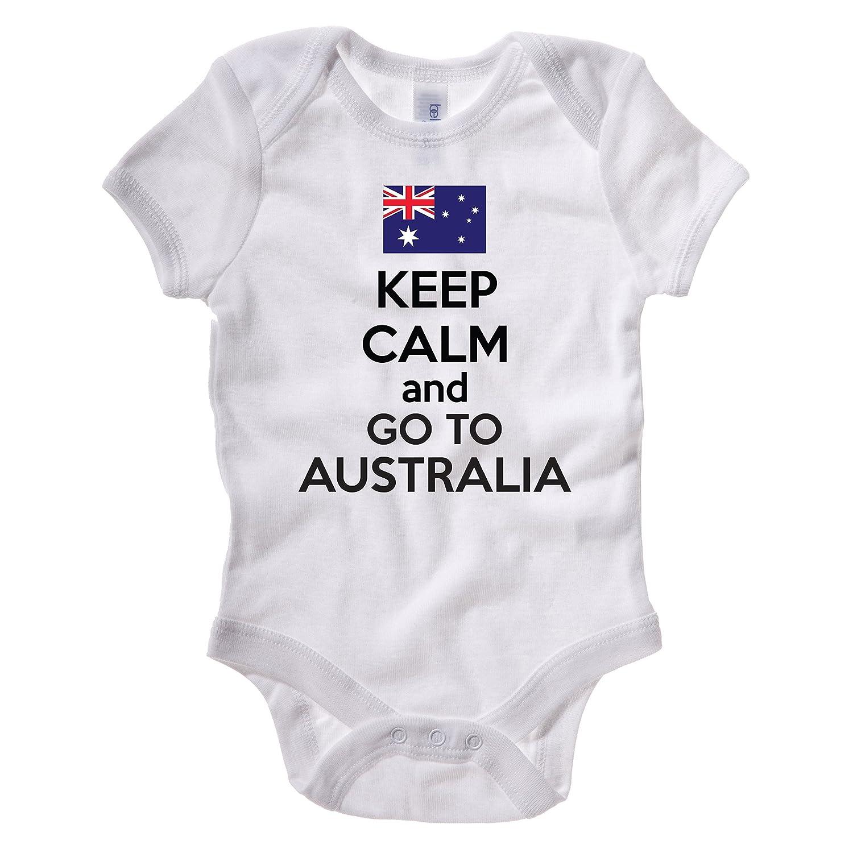 KEEP CALM AND GO TO AUSTRALIA Australian OZ Down Under Themed