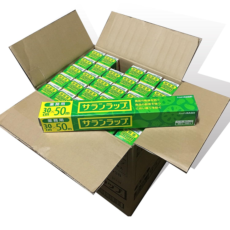 旭化成 サランラップ 家庭用 サランラップ 30cm×50m 1個×30点セット   B00SB663WY
