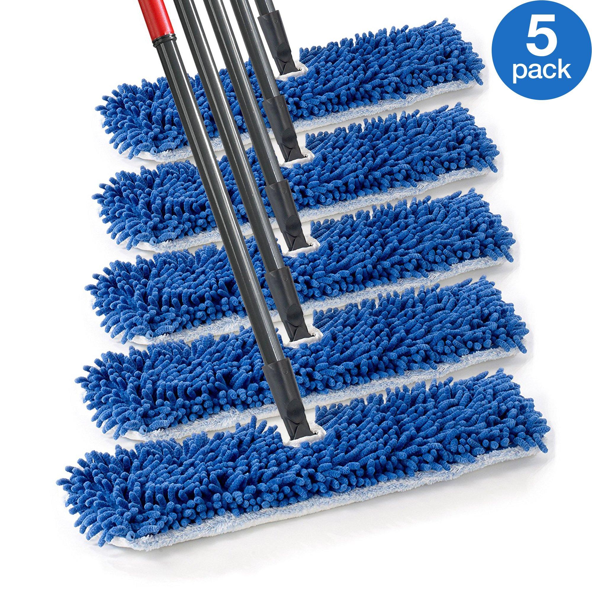 Amazon Com O Cedar Dual Action Microfiber Flip Mop Refill