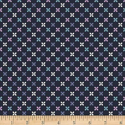 12bc190edfb Amazon.com: Stof Fabrics of Denmark Avalana Jersey Knit Flower Grid ...