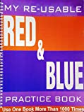 My Reusable Red and Blue Line Writing Book (Reusable Books)