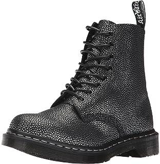 75c8280194b2 Dr. Martens Women s Pascal Metallic 8 Eye Leather Boots
