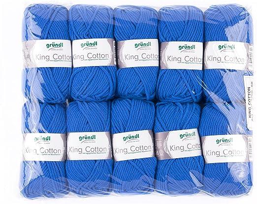 Grundl King algodón Hilo, 10 Unidades P: Amazon.es: Hogar