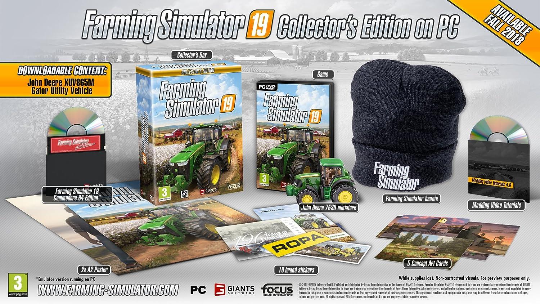 Farming Simulator 19: Collector's Edition PC CD: Amazon co