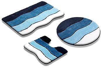 Vonella badematte badteppich grÖßen und farbauswahl Öko tex