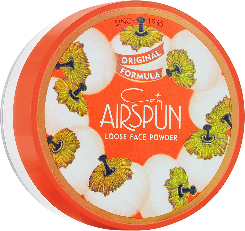 Coty Airspun Translucent Extra Coverage Loose Face Powder -translúcido cobertura adicional Polvos Sueltos SFS ONLY