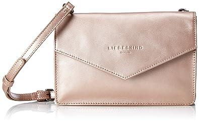 217e414df67e Liebeskind Berlin Damen Pepita Pearl Umhängetasche, Pink (Rose Gold),  4x12x15 cm