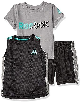 9314ce23d312 Amazon.com  Reebok Baby Boys Sleeve Athletic T-Shirt