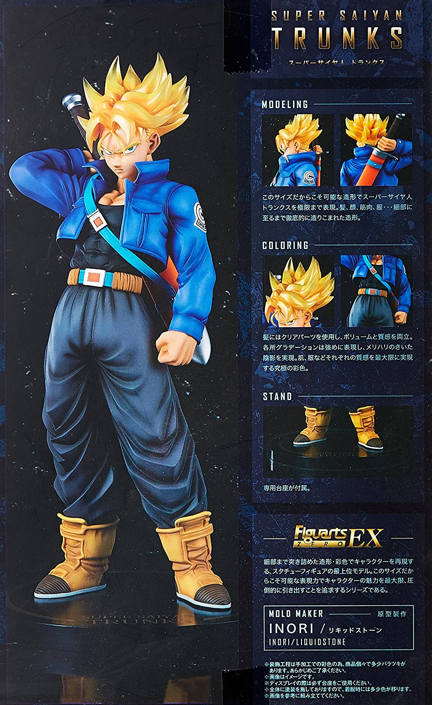 Dragon Ball Z Figuarts ZERO EX Super Saiyan Trunks Mold Maker INORI Box Packed