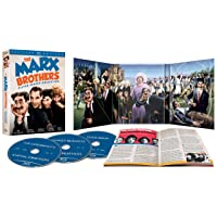 Deals on The Marx Brothers Silver Screen Collection Blu-ray