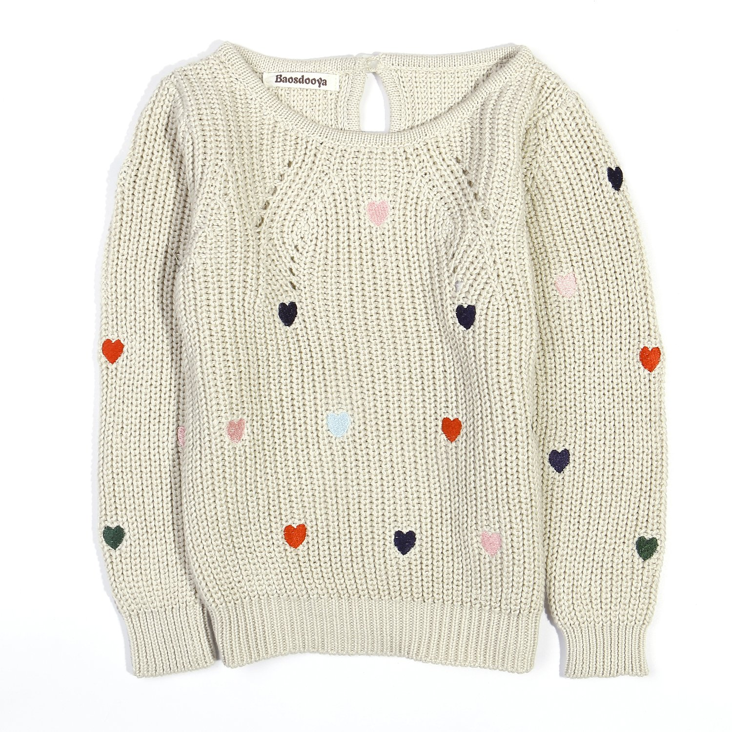Baosdooya Pullover Sweater for Girl