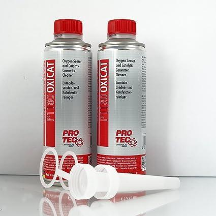 Limpiador Lambda Sonda y limpiador catalizador P1180 Oxicat 2 x 375 ml