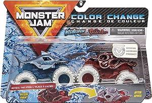 MonsterJam 1:64 Scale Color Change Megalodon Vs Octon8er