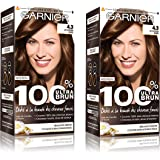 Garnier - 100% Ultra Brun - Coloration Permanente Intense Lot de 2