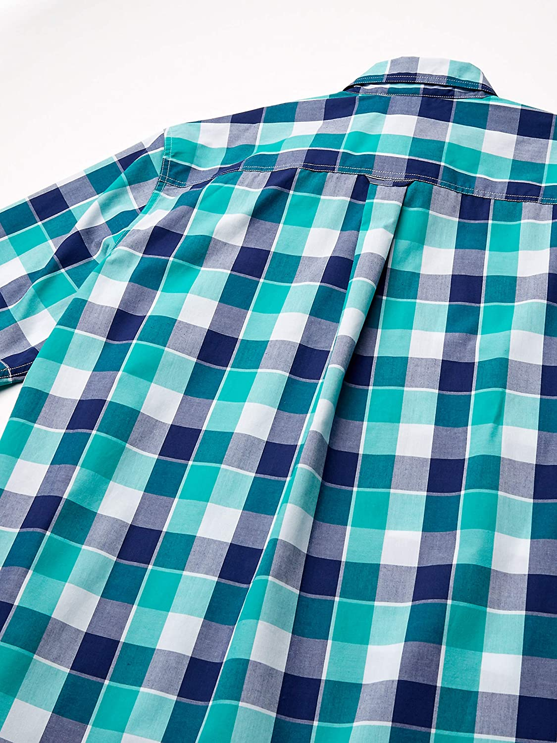 Chaps Mens Big and Tall Short Sleeve Easy Care Button Down Shirt