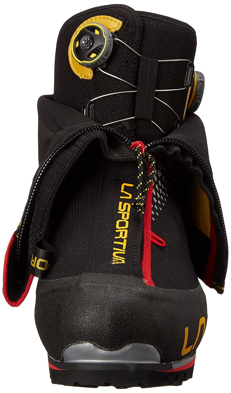 La Sportiva G2 SM Boot Men's Mountain Climbing Mountaineering Boot SM B00QUO2TUO 50 M EU|Black/Yellow 2e8c8e