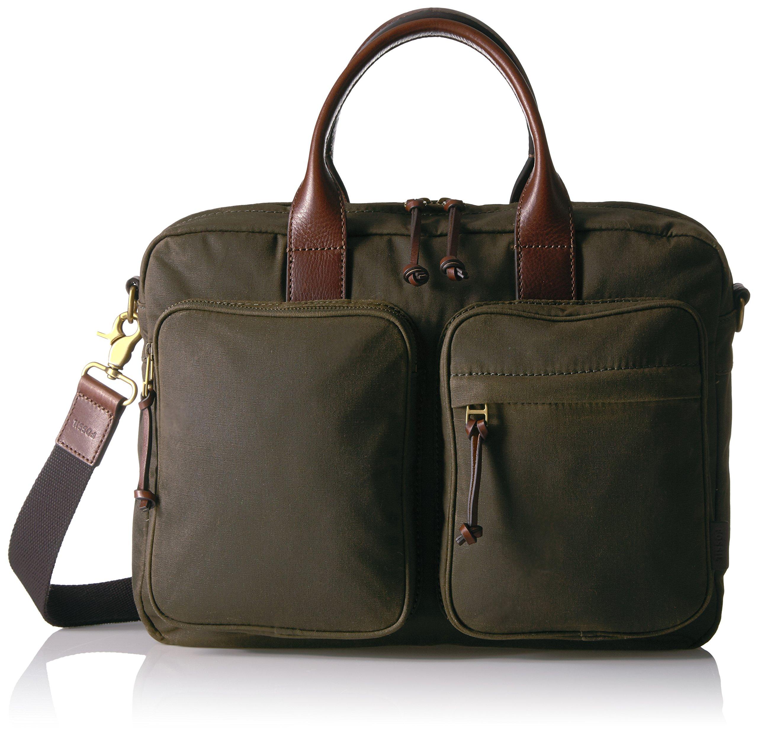 DEFENDER TOP ZIP WORKBAG GREEN Messenger Bag, GREEN, One Size