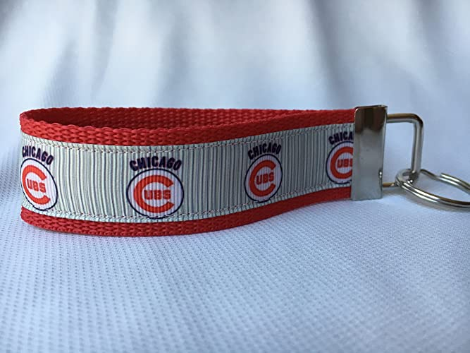 Amazon.com: Chicago Cubs Keychain, Chicago Cubs Gifts, Personalized Keychain, Custom Keychain, Cubs Baseball: Handmade