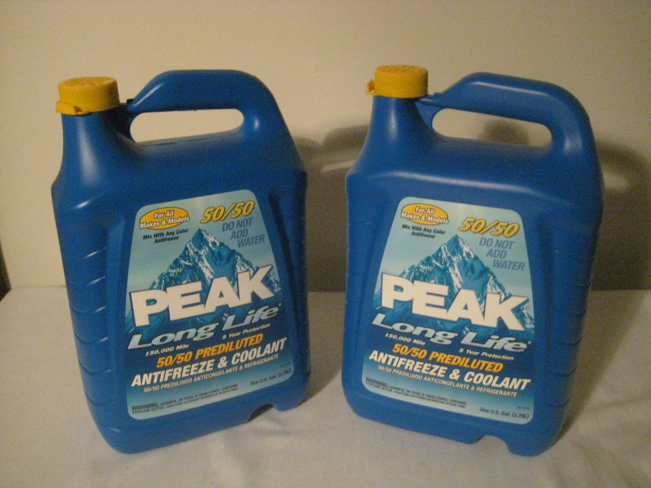 Peak Long Life Old World Automotive Product Gallon 50/50 Antifreeze & Coolant (2 pack) by Old World Automotive Product
