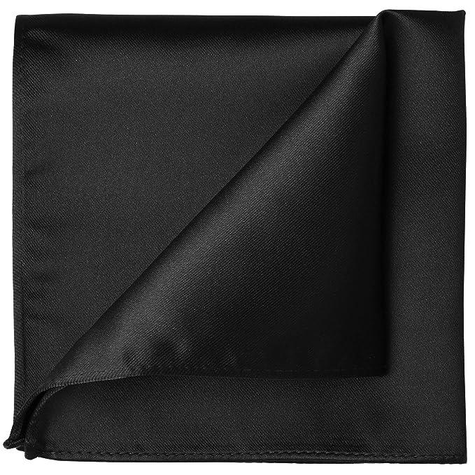 Amazon.com: Kissties Corbata de satén sólido, corbata de ...