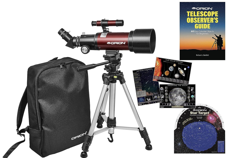 Orion GoScope III 70mm Refractor Travel Telescope Kit 20411