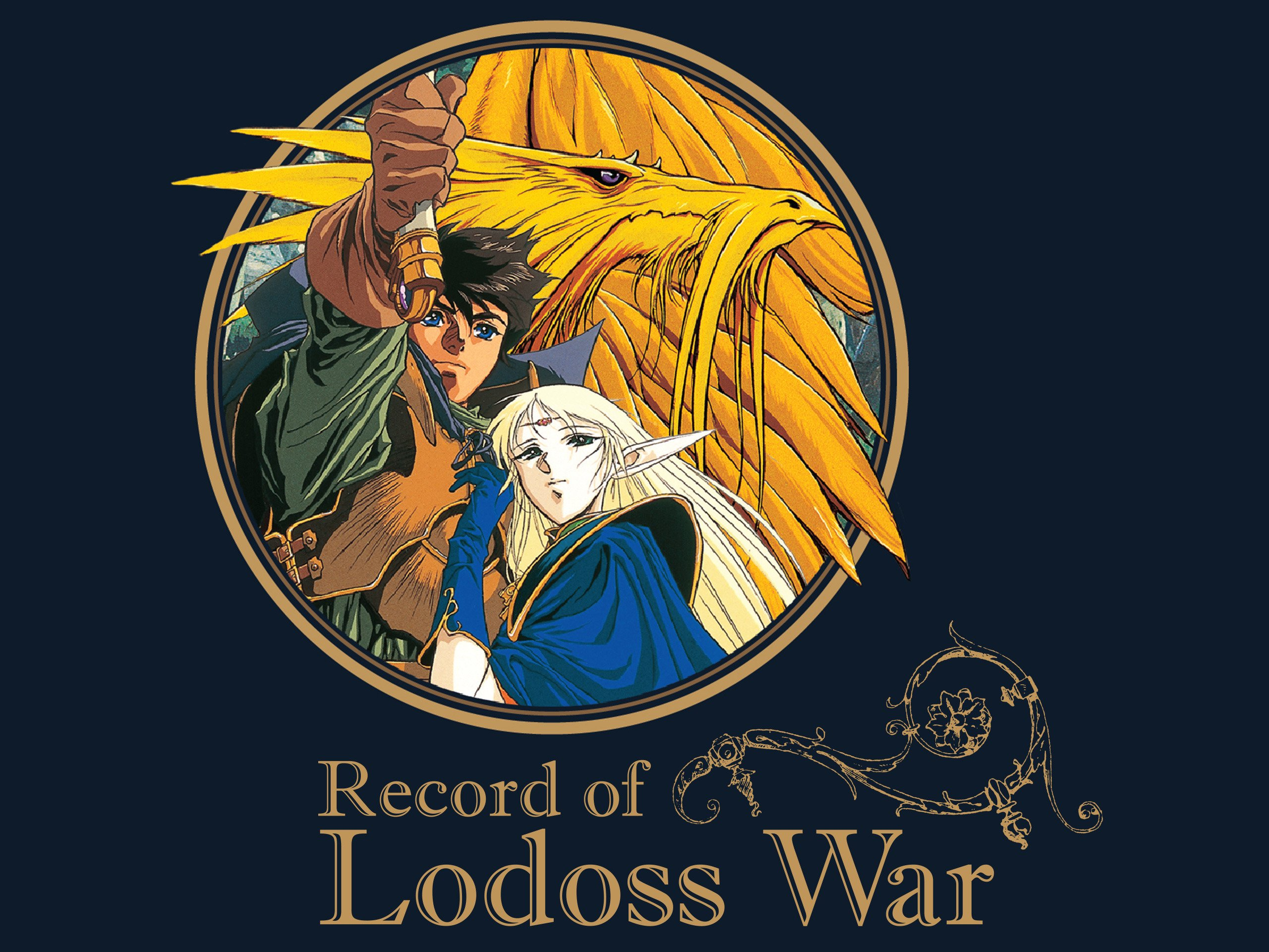 Amazon Com Watch Record Of Lodoss War Original Japanese Version