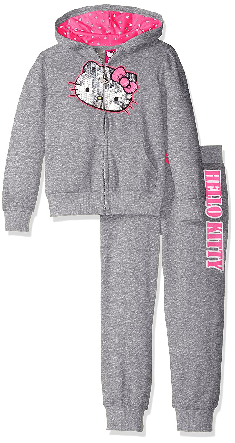 Hello Kitty Girls' 2 Piece Embellished Active Set K08628AM