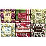 Christmas Holiday Winter Mini Soap Square Gift Set