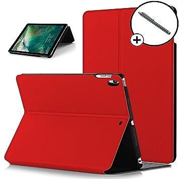 Forefront Cases Apple iPad Pro 12.9 2017 Funda Carcasa Stand Smart Case Cover – Ultra Delgado y Protección Completa del Dispositivo con Función Auto ...