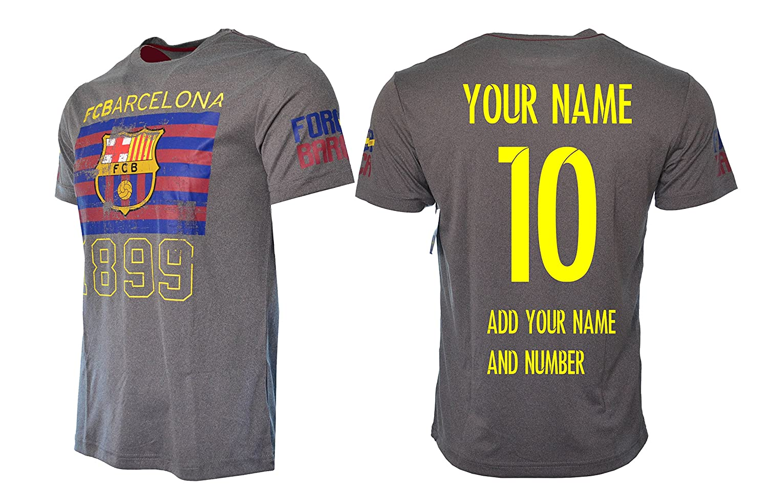683c9eb42dd FC Barcelona Jersey Officially licensed • Add any name and number – custom  name and number • While checking out