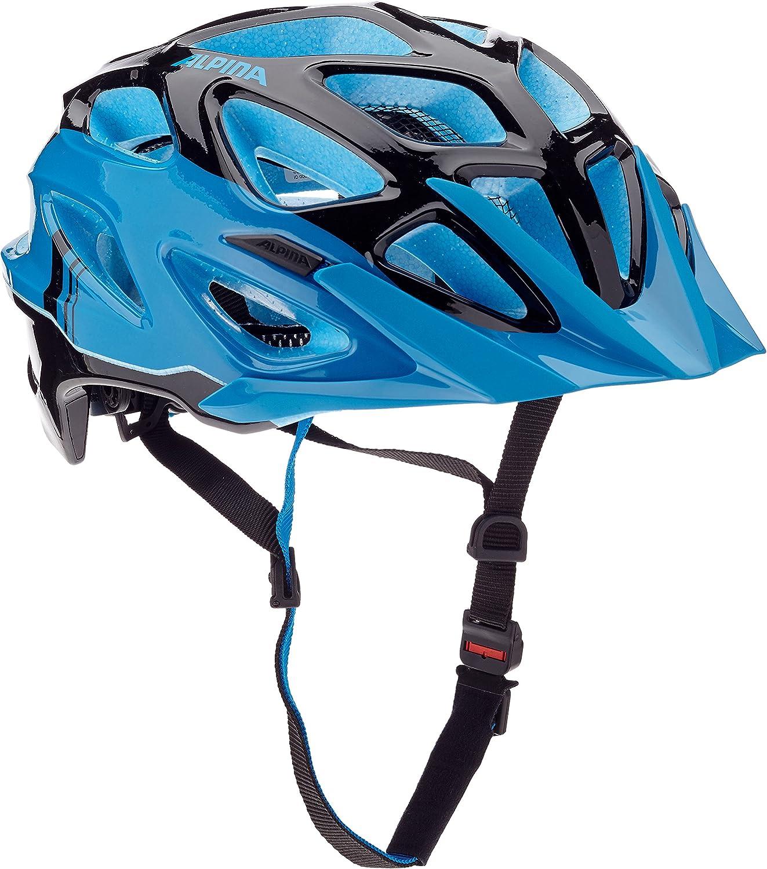 ALPINA Mythos 3.0 Casque de vélo Mixte Noir/bleu
