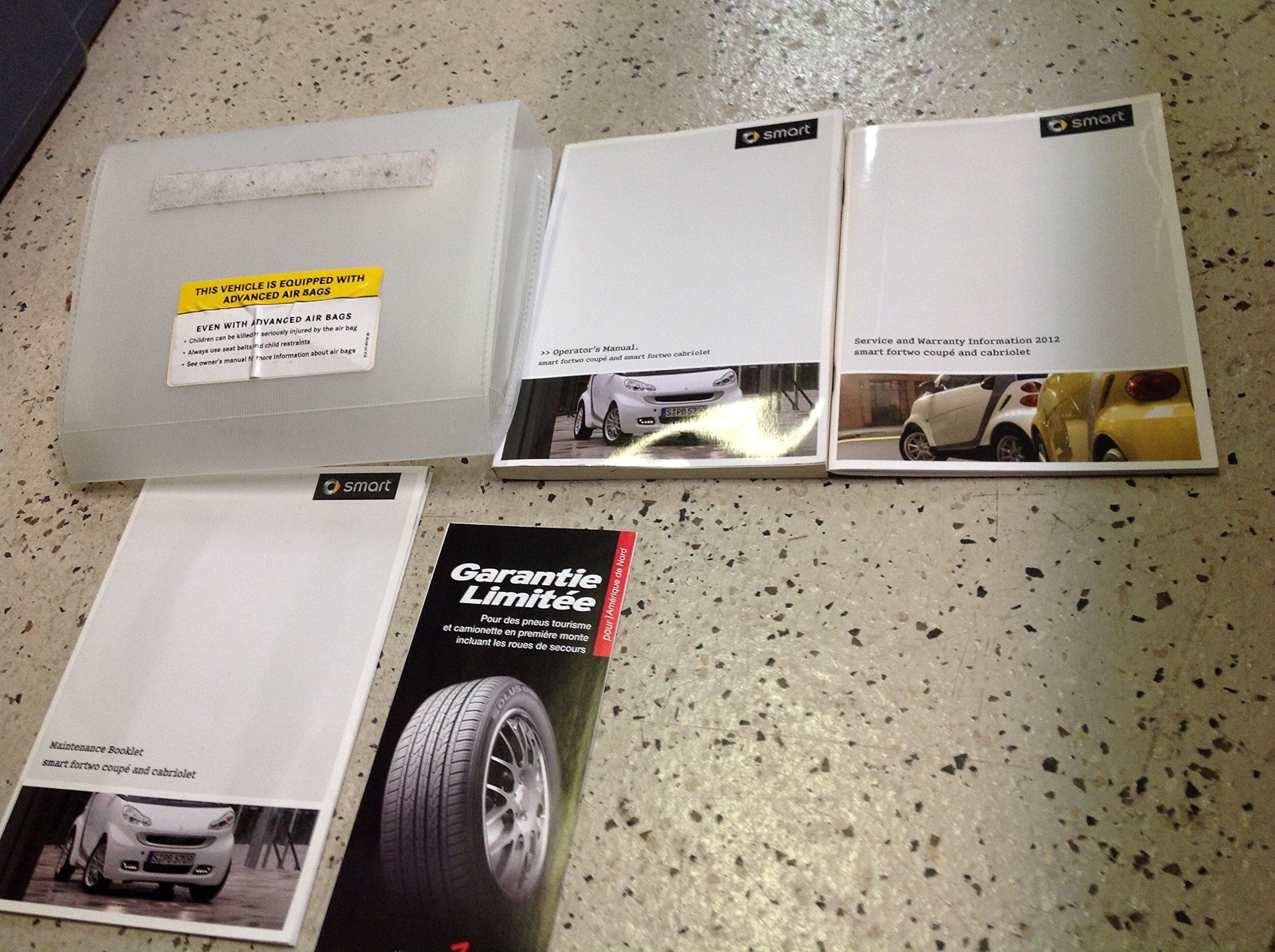 2012 smart fortwo owners manual