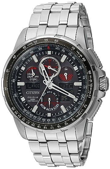 CITIZEN RELOJ DE HOMBRE ECO-DRIVE CORREA Y CAJA DE ACERO JY8050-51E: Amazon.es: Relojes