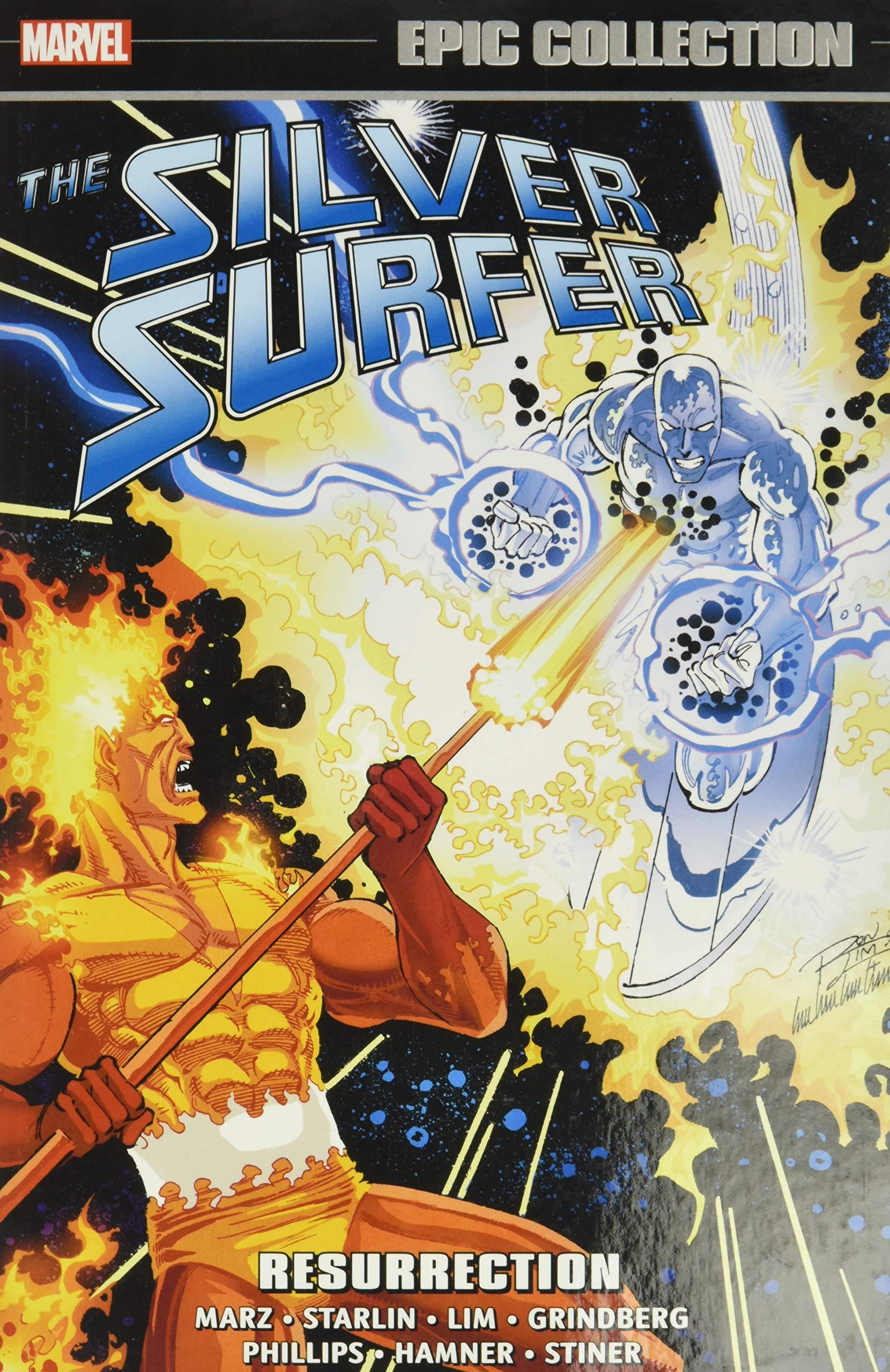 SILVER SURFER WHEN CALLS GALATUS TPB Marvel Comics Epic Collection Volume 1 TP