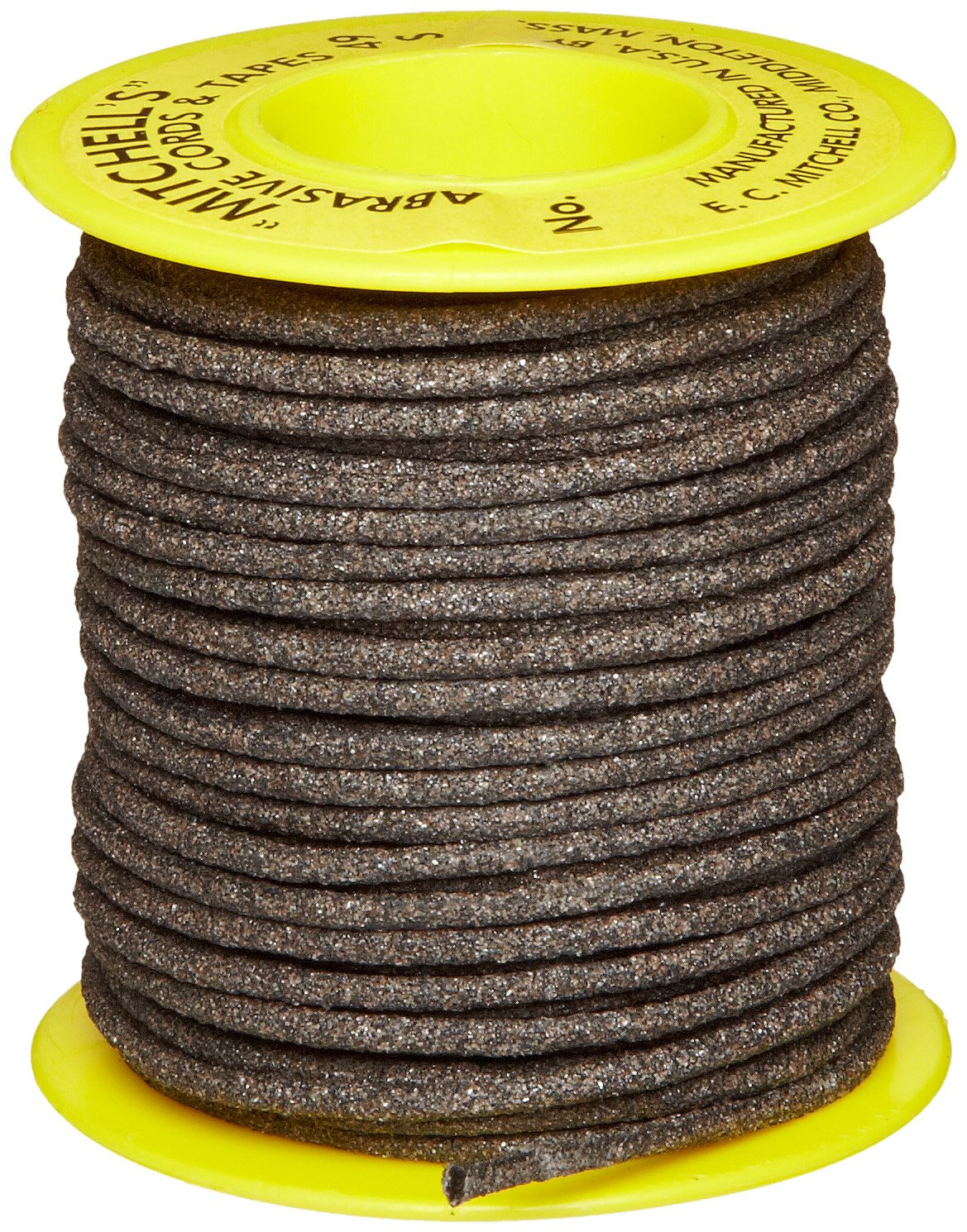 Mitchell Abrasives 49-S Round Abrasive Cord, Silicon Carbide 120 Grit .082'' Diameter x 50 Feet