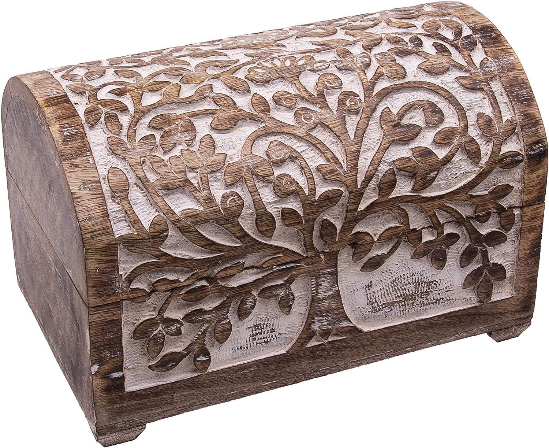 Holztruhe Schatzkiste KELTEN verschiedene Größen od als Set NEU Holzlade