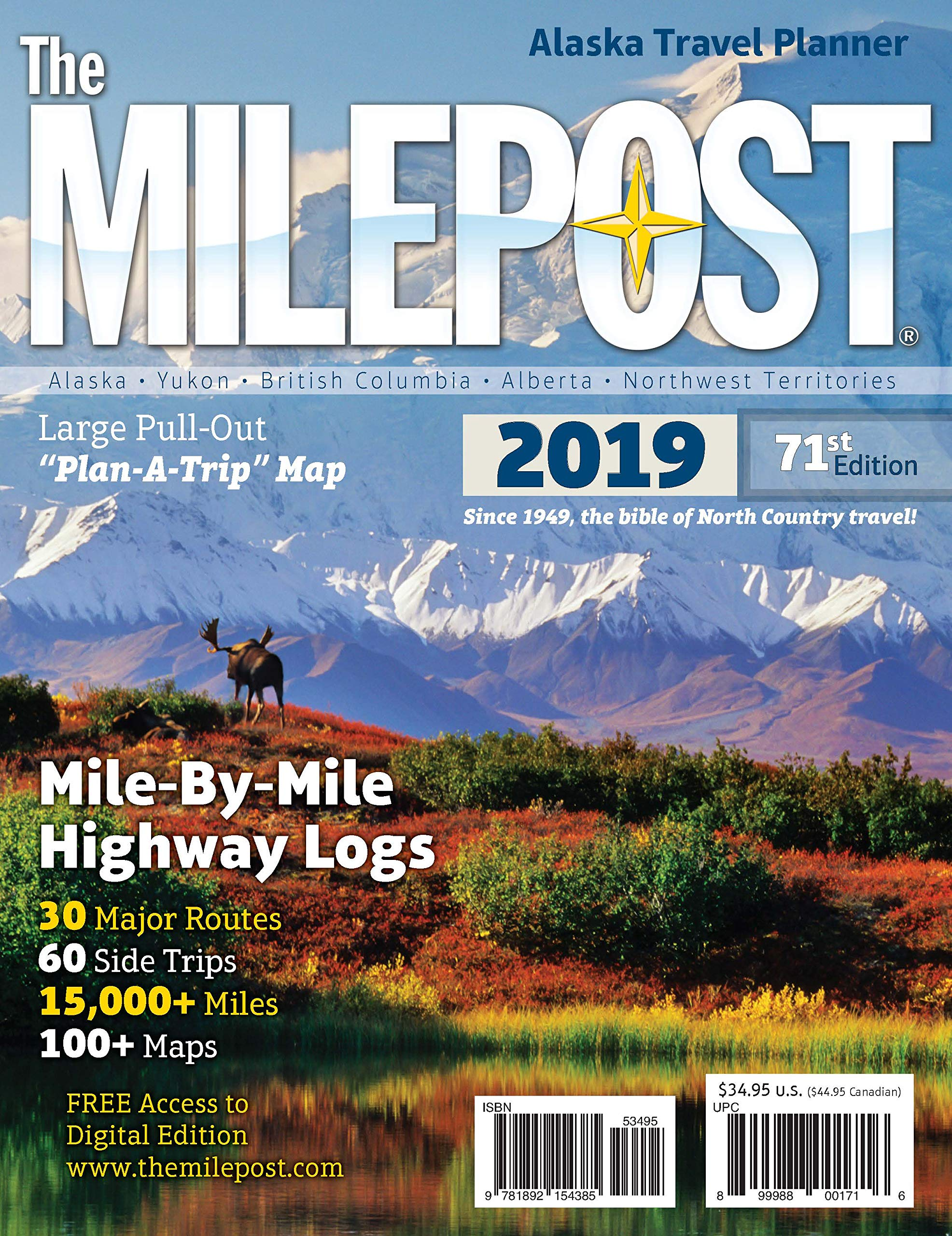 The MILEPOST 2019: Alaska Travel Planner: Kris Valencia ... on interstate 27 map, interstate 422 map, i-10 map, lincoln way map, interstate 4 map, interstate 20 map, texas map, interstate 70 map, interstate 421 map, highway 82 map, interstate 8 map, interstate 81 map, i-70 colorado road map, interstate 80 map, interstate 5 map, interstate 25 map, interstate 75 map, interstate i-10,