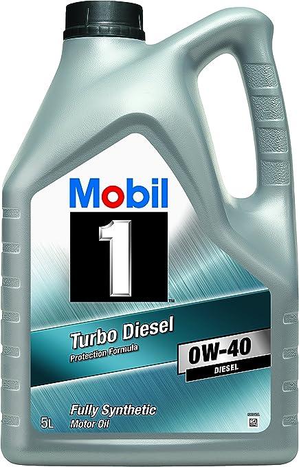Mobil 1 151041 Turbo Diesel - Aceite sintético de Motor ...