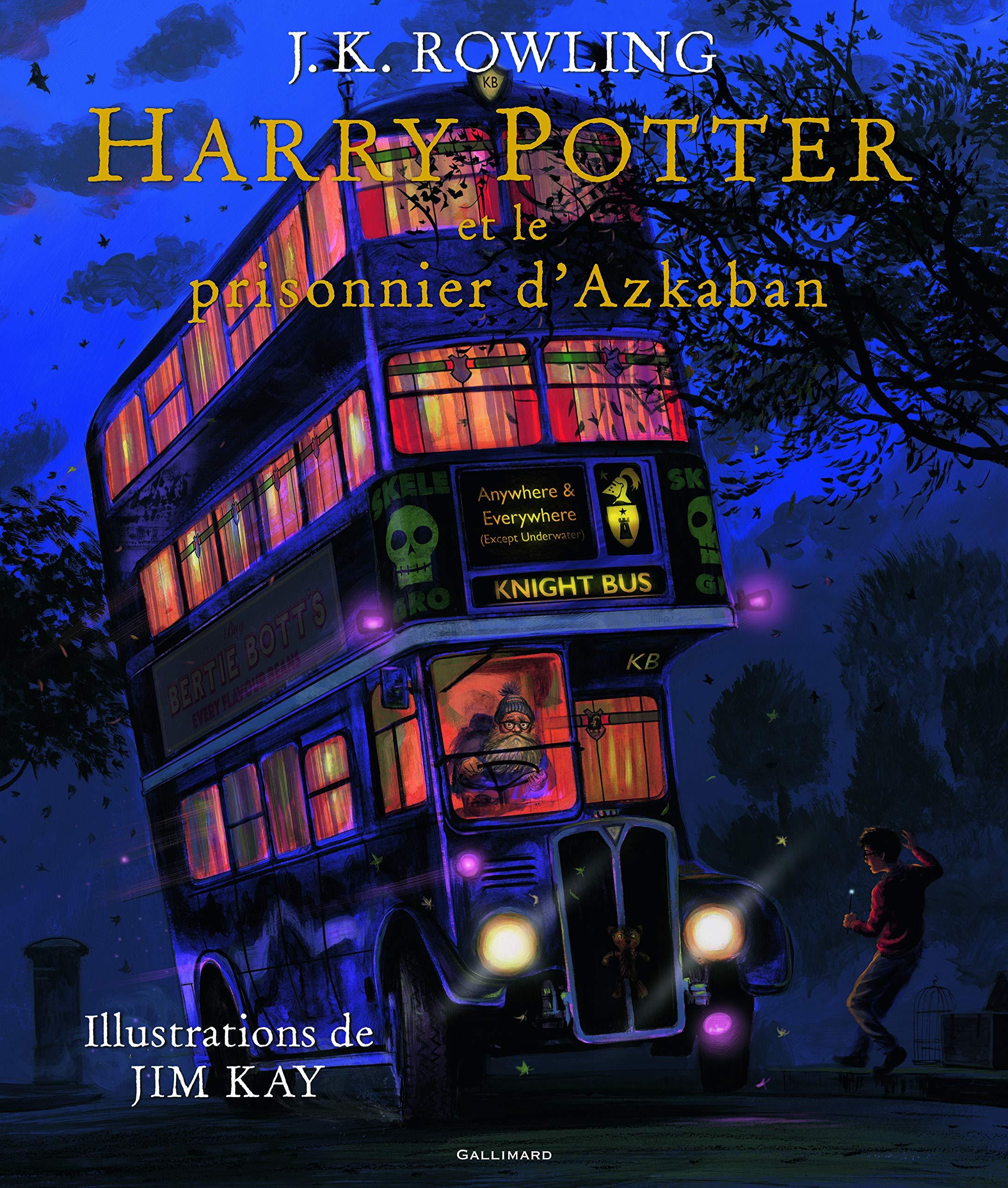 Amazon.fr - Harry Potter, III : Harry Potter et le prisonnier d'Azkaban -  Rowling, J.K., Kay, Jim, Ménard, Jean-François - Livres