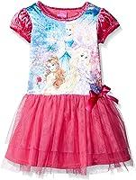 Disney Girls' Princesses Penne Dress