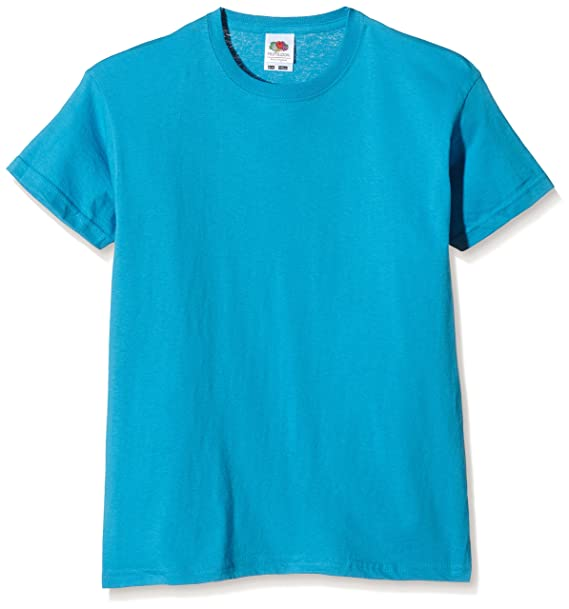 Maglietta Manica Corta Bambina Bambini 2 - 16 Anni T-shirt Bimbo Bambino Unisex Fruit Of The Loom