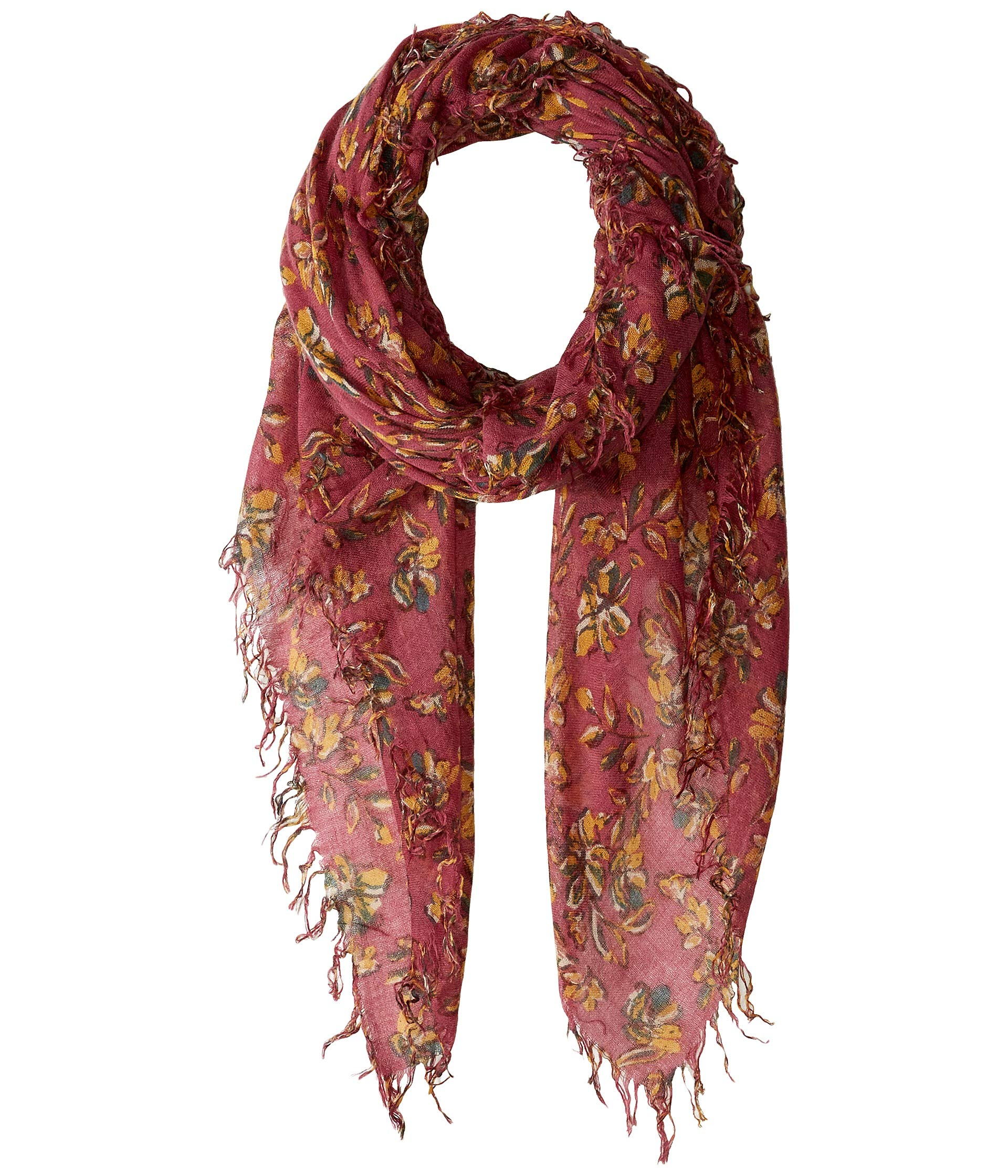 Chan Luu Women's Floral Cashmere Silk Scarf Meadow Mauve One Size