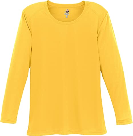 Yellow T Shirt Long Sleeve Artee Shirt