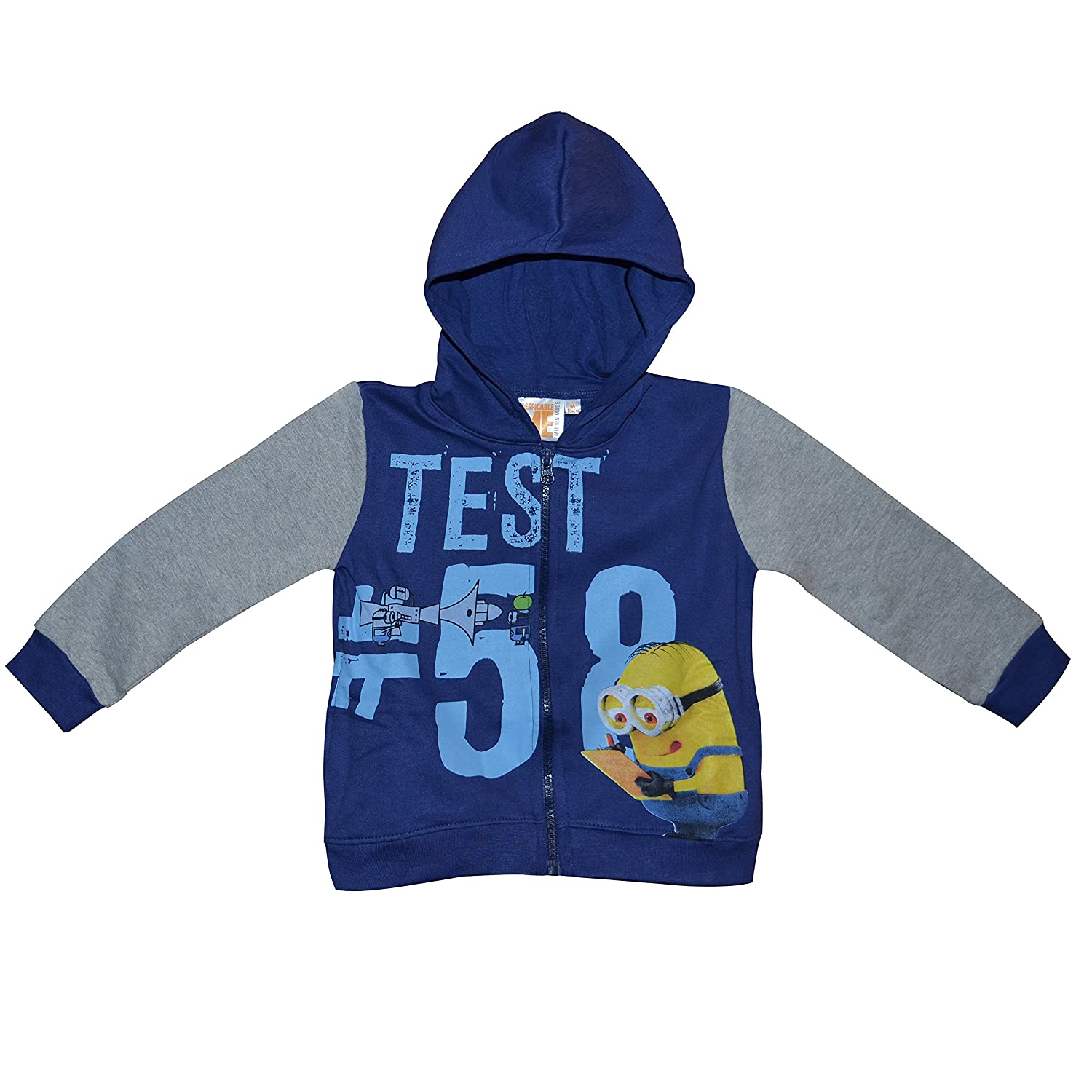 726a8cbcc Amazon.com   Character Minions  Blue Hoodie  Jumper Clothing (10 ...