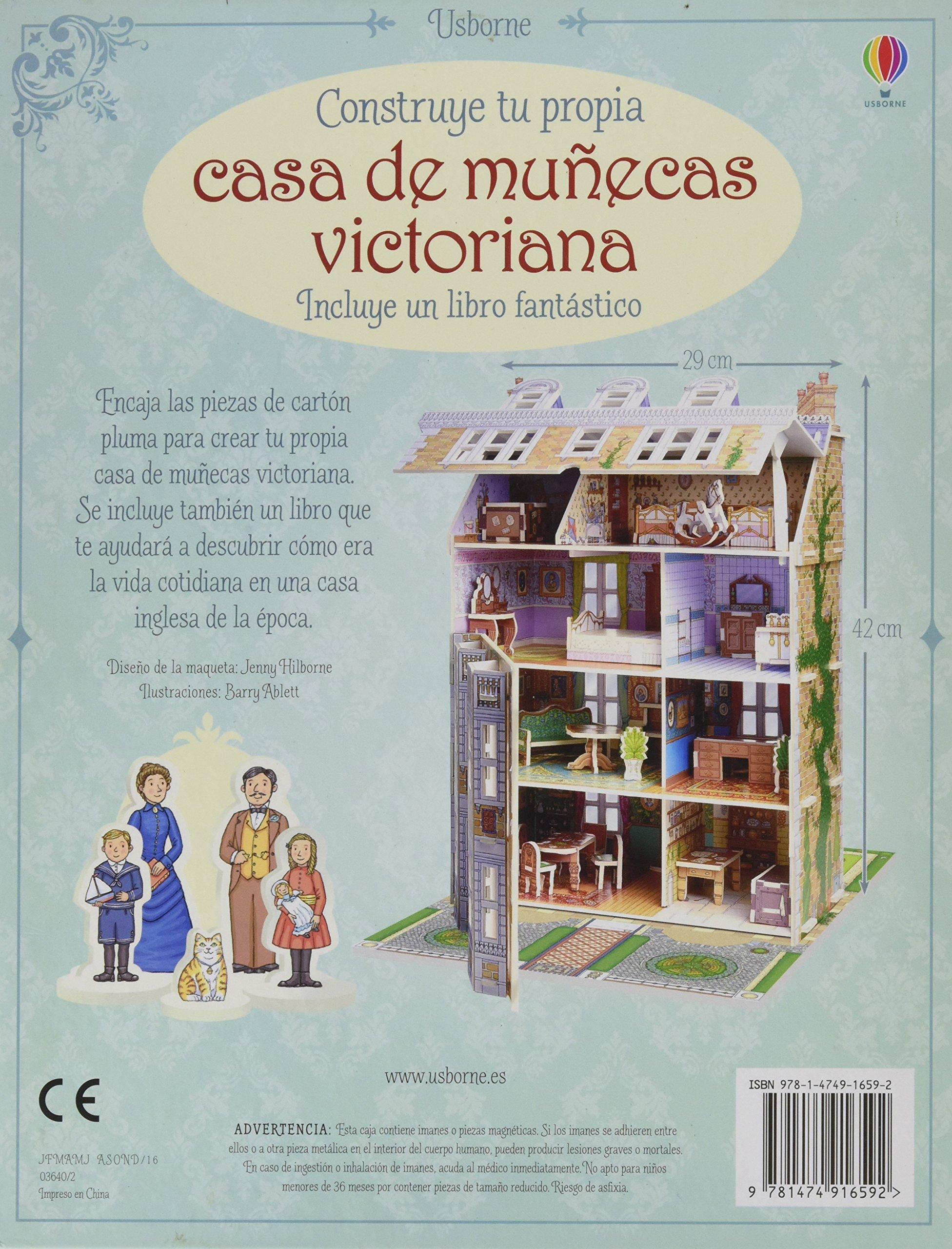 Construye Tu Casa De Munecas Victoriana Milbourne Anna
