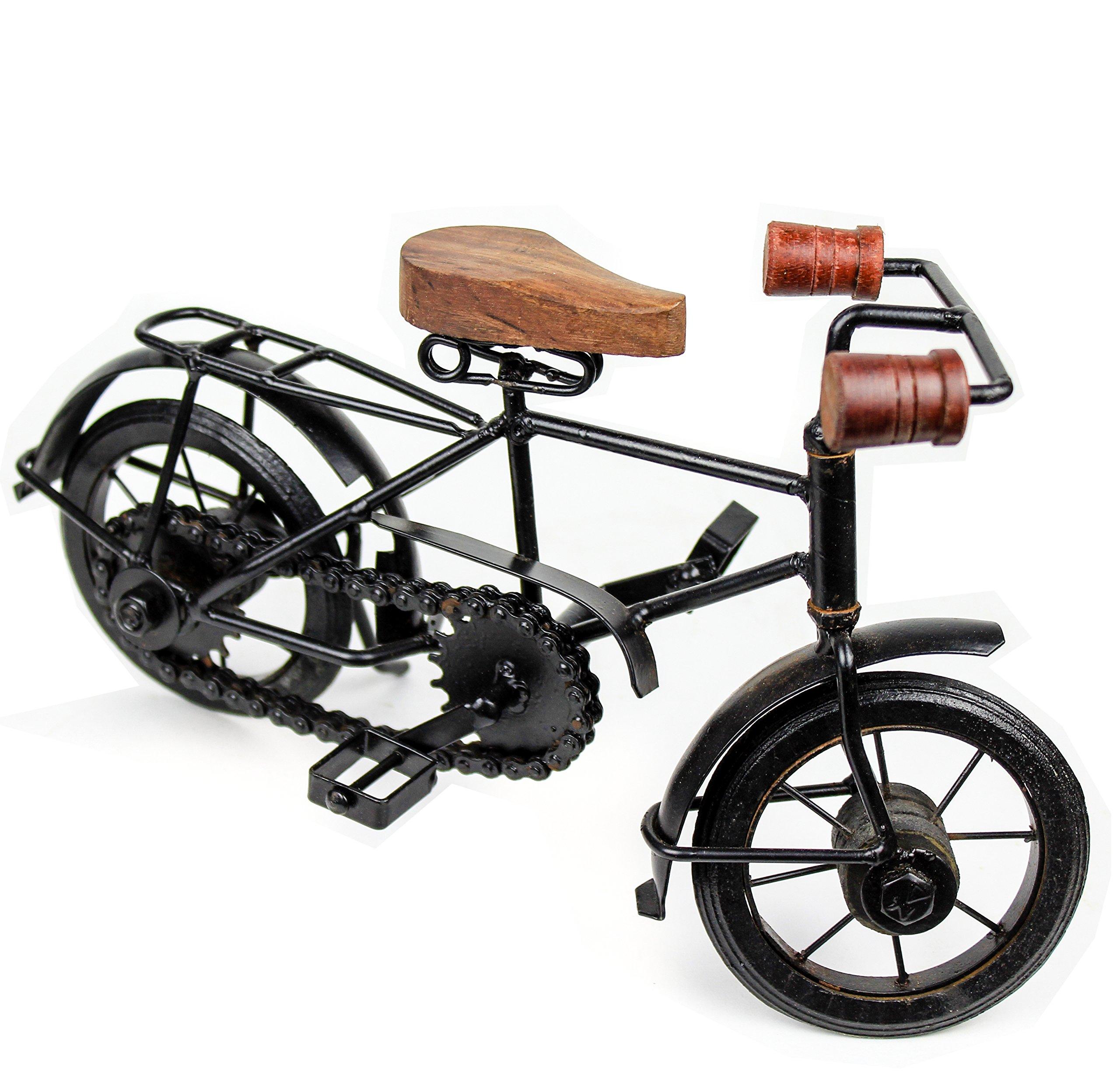 Nagina International Home Decor Iron Metal Crafted Beautiful Finger Bike   Table Decor Gifts Vehicle   Games Toy Cycle (Postman) by Nagina International (Image #4)