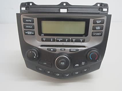 How to fix lcd on 2003 honda accord radio backlight