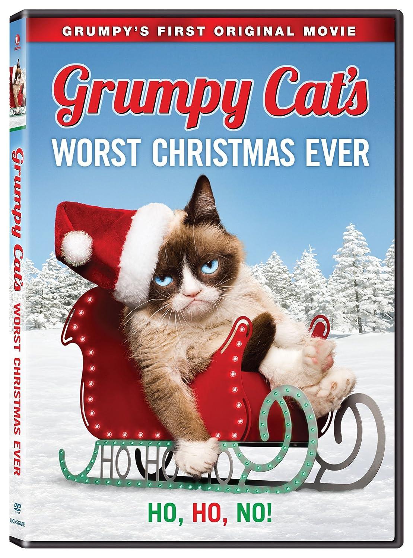 amazoncom grumpy cats worst christmas ever aubrey plaza tim hill movies tv