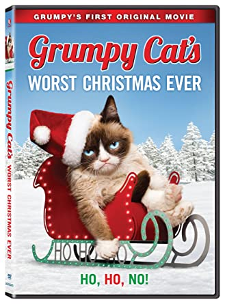 Cat Christmas.Amazon Com Grumpy Cat S Worst Christmas Ever Aubrey Plaza